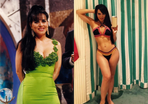 Maribel Guardia Antes Despues