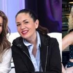 Niurka Besa Montserrat Oliver, Niurka, Montserrat Oliver, Yolanda Andrade, Televisión, Beso