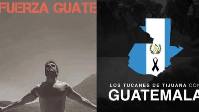 Famosos Lanzan Mensaje Apoyo Guatemala Volcan