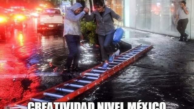 Ingenio Chilango Inundaciones Lluvias CDMX Creatividad