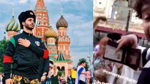 Debrayan Show Bandera Alemania Rusia, Cartera Debrayan ShowM, Cartera, Mexicanos En Rusia, Rusia 2018, Youtuber