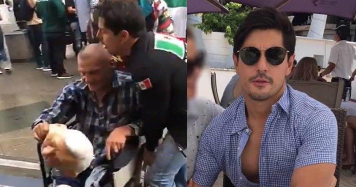 Mexicano Que Tiró A Viejito Silla De Ruedas, Mexicanos En Rusia, Rusia 2018, Viejito Silla Ruedas, Video, AMLO