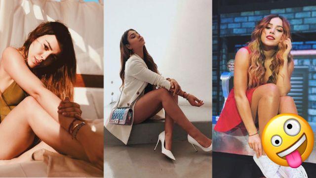 Danna Paola presume sus piernas y todos enloquecen