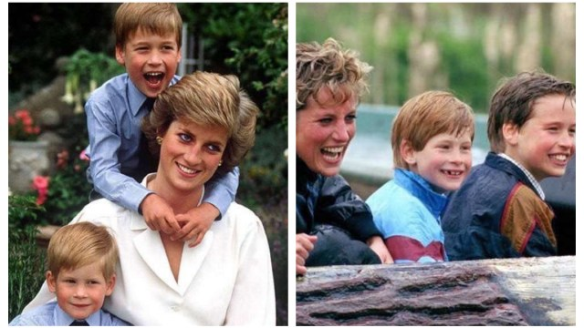 Princesa Diana Fotos demuestran Amaba William y Harry
