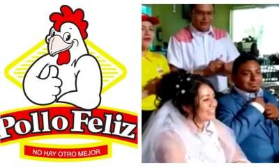 Pareja boda Sucursal Irapuato Pollo Feliz