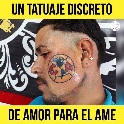 Aficionado se tatua AMe