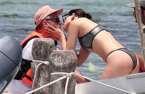 Josh Duhamel Eiza Gonzalez Vacaciones Besos