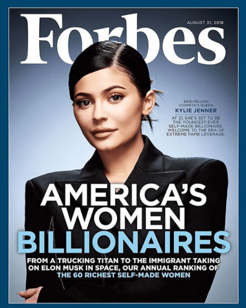 Kylie Jenner Multimillonaria Más Joven