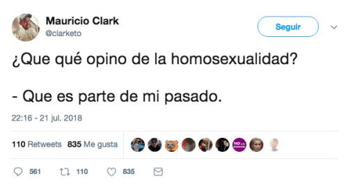 mauricio clark se curó de la homosexualidad
