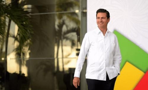 Peña Nieto se suma al thalía challenge