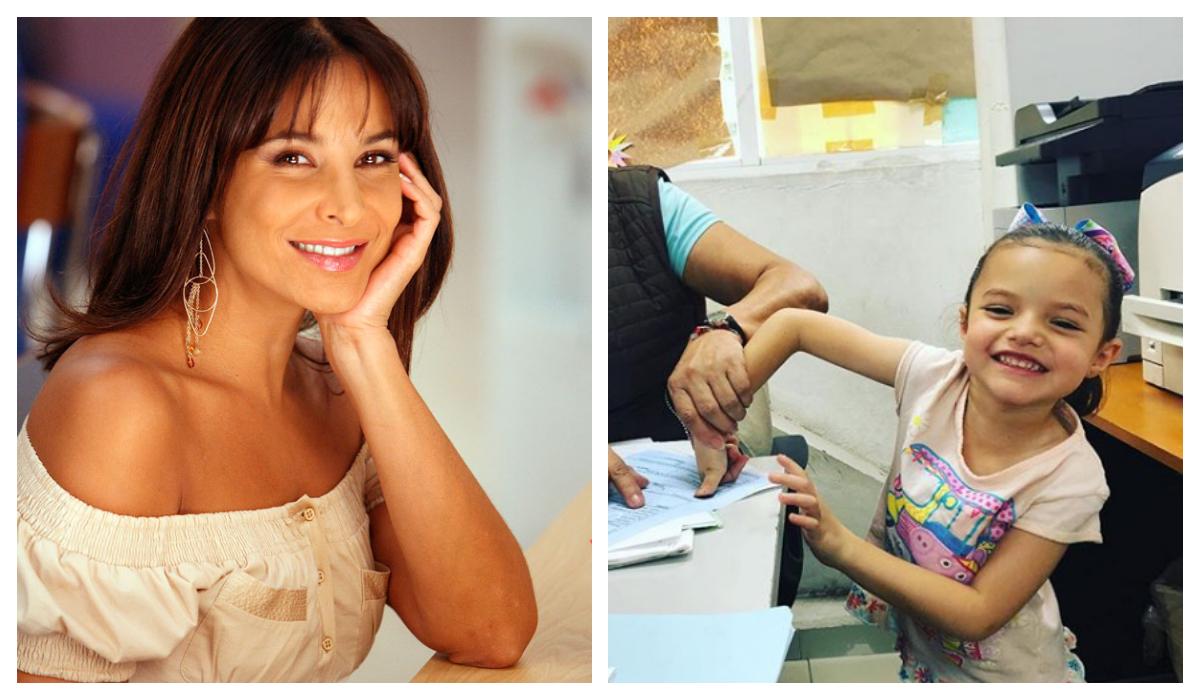 La hija de Lorena Rojas ya es mexicana Adoptada Hermana