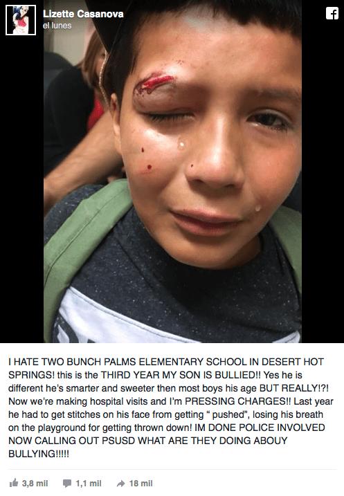 Niño no golpea a bully porque no lo haría un jedi