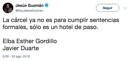 Cárcel a Javier Duarte
