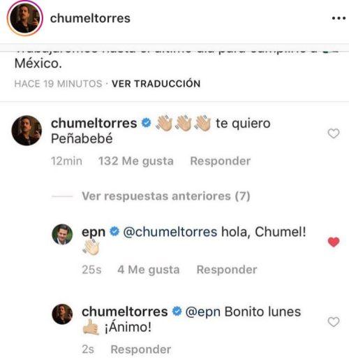 Chumel Torres Enrique Peña Nieto