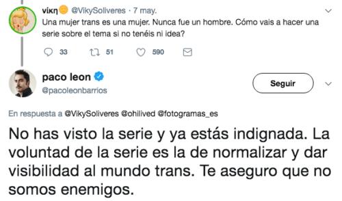 Critican a Paco León