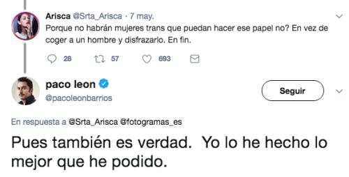 Critican Paco León La casa de las flores