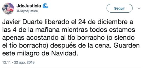 PGR Cambia delitos de Javier Duarte