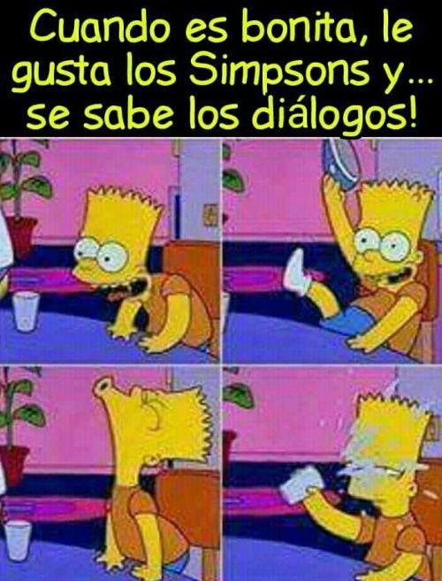Corta a su novio con memes de los Simpson