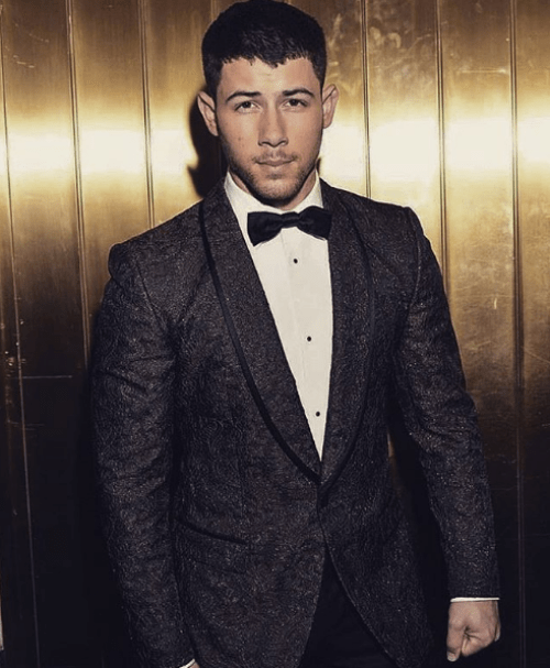 Nick Jonas compromiso