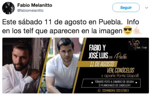 Tweets muerte fabio melanitto