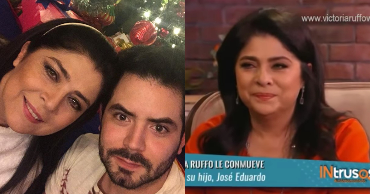 Victoria Ruffo Llorando, Victoria Ruffo José Eduardo Derbez, José Eduardo Derbez, Eugenio Derbez, Aurora Valle, Intrusos