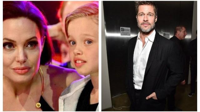 Angelina Jolie Brad Pitt Hija Espaca
