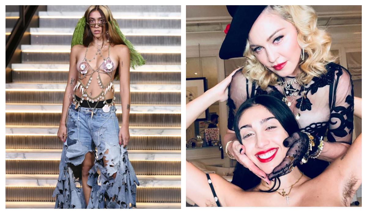 Hija de Madonna Debuta desfila sin depilarse