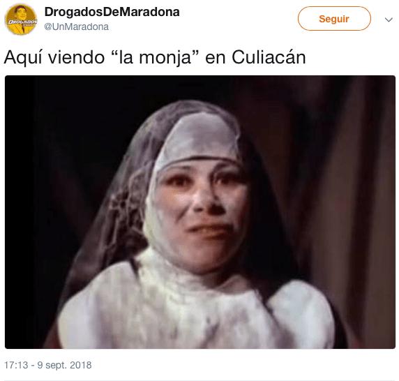 Los memes de La Monja para echarle agua bendita al rompope