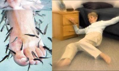 Tratamiento de spa con peces termina en dedos amputados