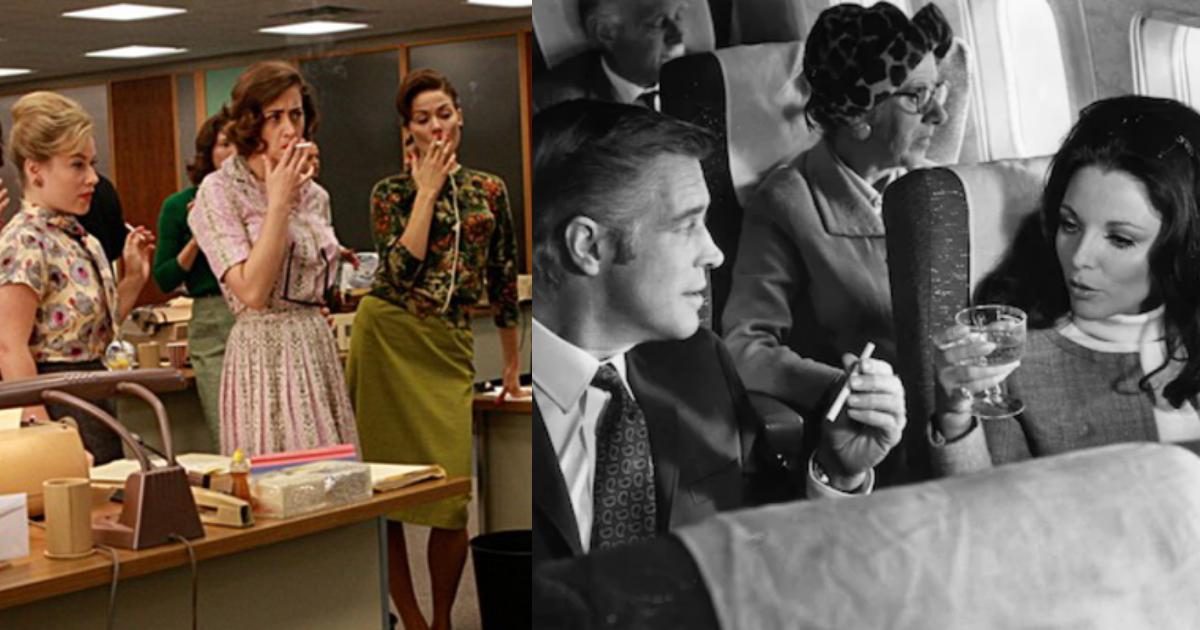 Donde Se Podía Fumar Antes, Lugares Donde Se Podía Fumar, Fumadores, Lugares Donde Esta Prohibido Fumar, Década De 1960, Fumar