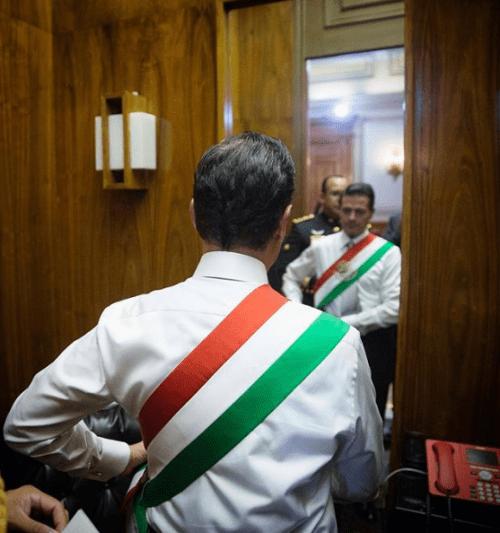 Enrique Peña Nieto última ceremonia del grito