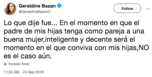 Geraldine Bazan arremete contra Irina Baeva