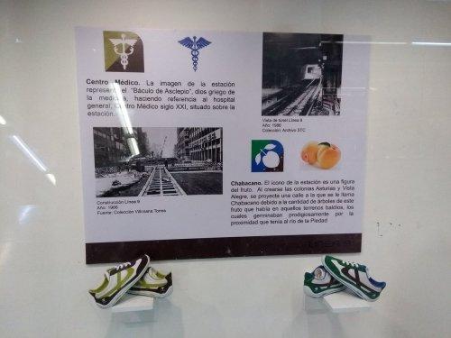 Tenis PANAM metro CDMX