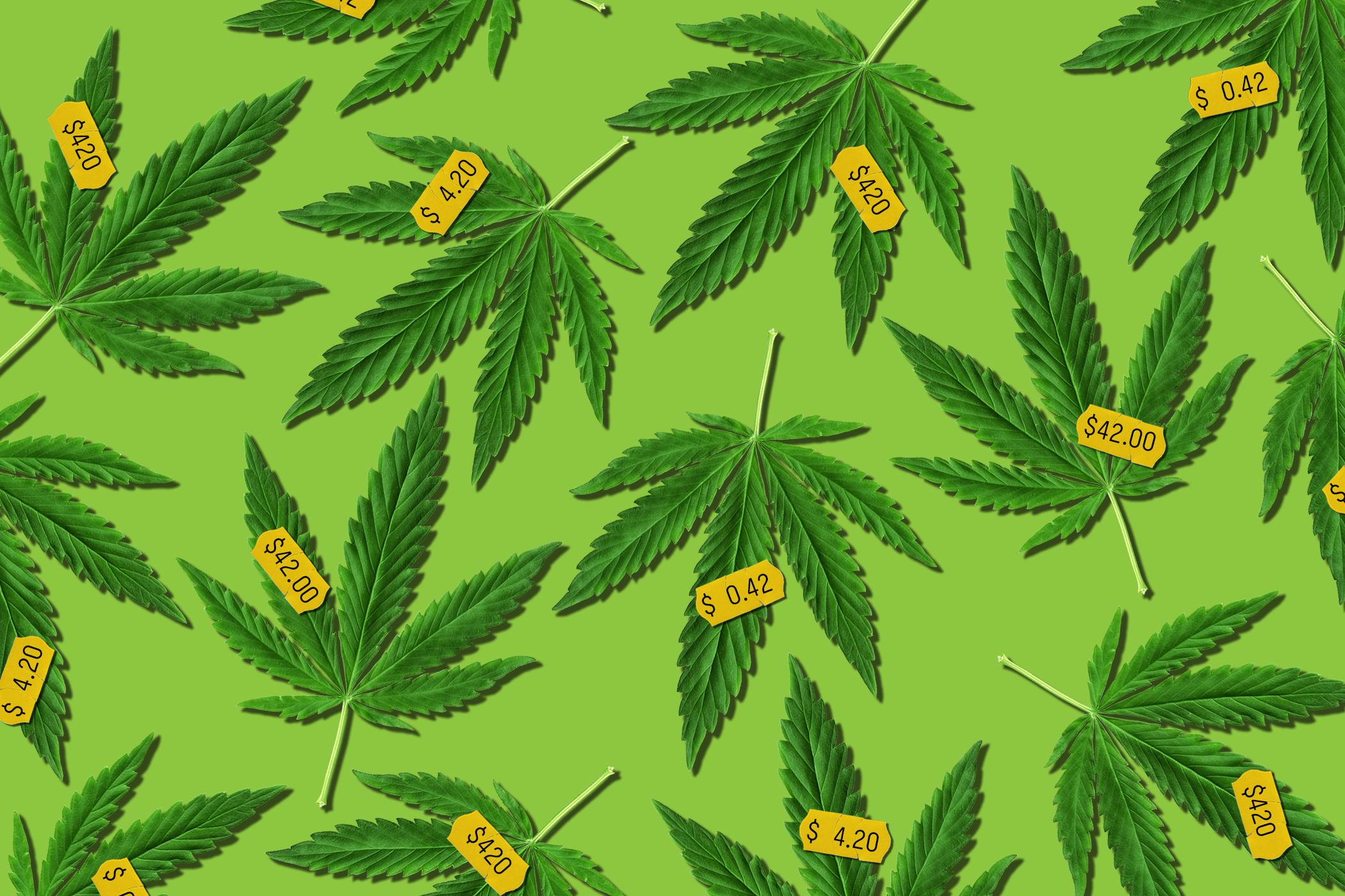 Tampones con marihuana para calmar dolores de menstruación