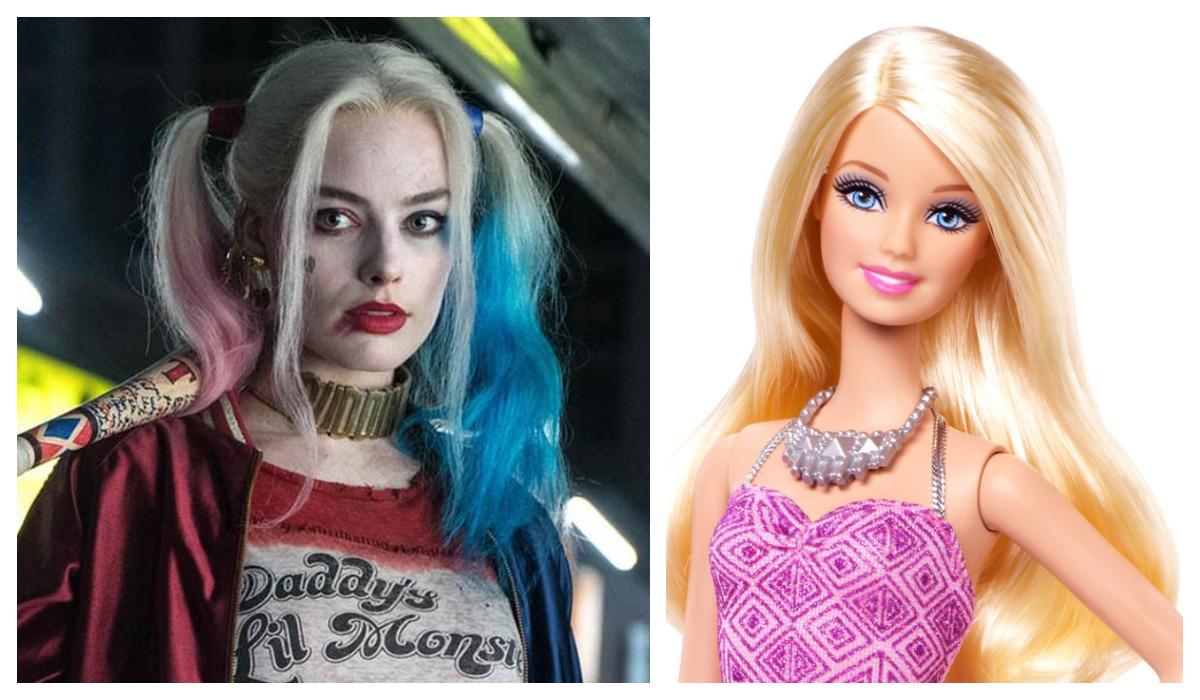Harley Quinn Barbie Margot Robbie Actriz Película