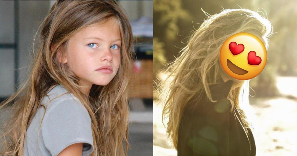 Así se ve ahora Thylane Blondeau, niña más hermosa del mundo