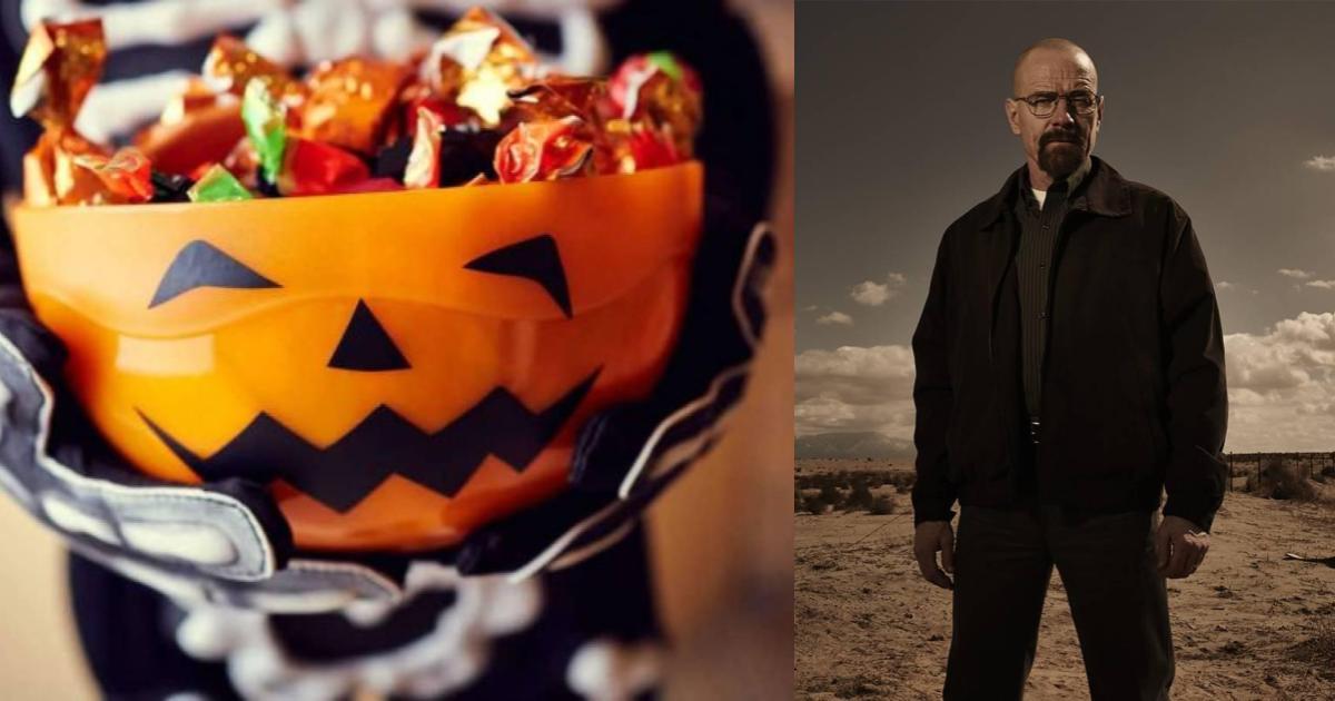 Niño recibe metanfetamina en vez de dulces por Halloween