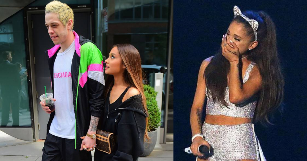 Ariana Grande Pete Davidson Terminan Compromiso, Ariana Grande Termina Con Su Novio, Pete Davidson, Ariana Grande, Compromiso, Terminan