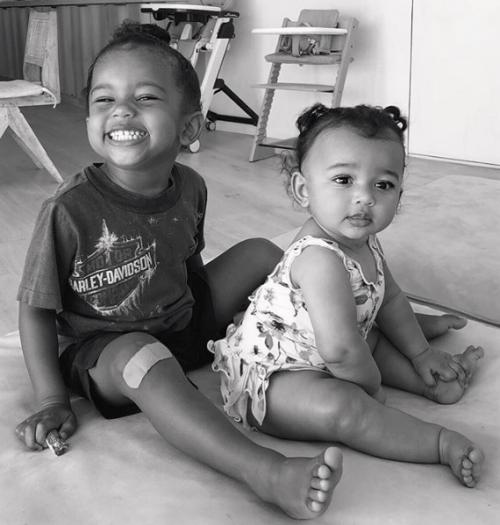 Hijos de Kim Kardashian y Kanye West