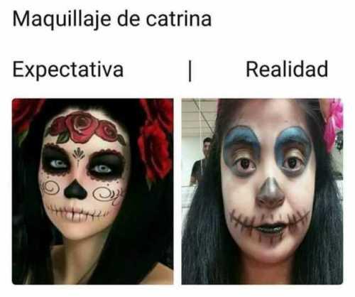 Mejores tutoriales maquillaje de catrina