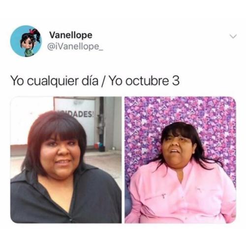 Memes de chicas pesadas