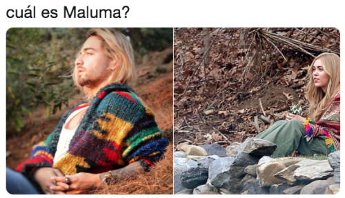 Memes de maluma con el pelo pintado