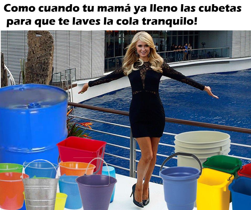 memes para sobrevivir a la falta de agua