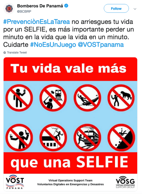 Mujer muere por tomarse una selfie