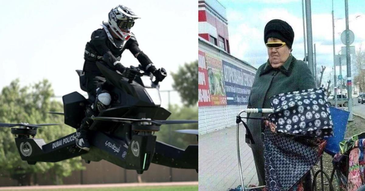 Dubai prueba motocicletas voladoras para sus policías