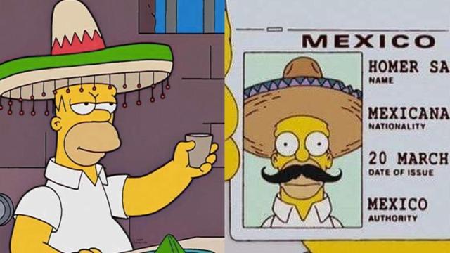 Los Simpson se burló de México pero fue censurado