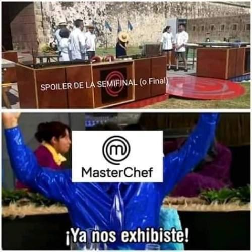 Filtran escena de la final de Master Chef MX