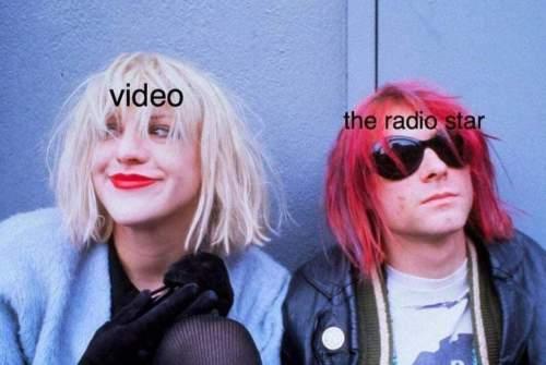 Memes Video Radio Star