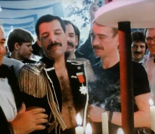 Paul Prenter y Freddie Mercury