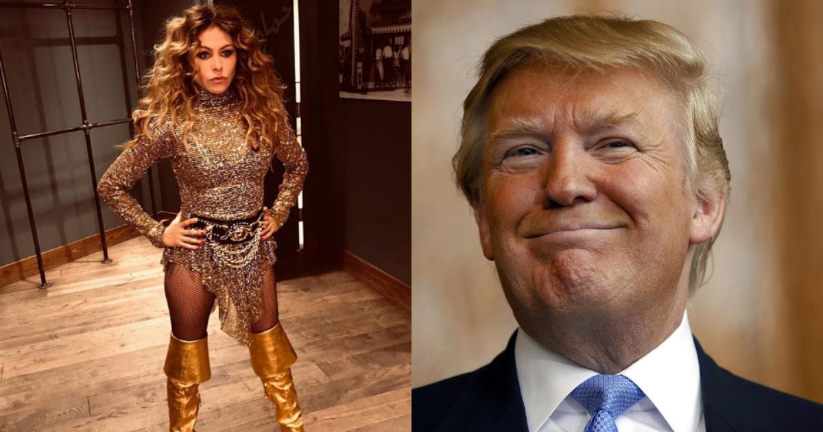 Paulina Rubio Ama A Donald Trump, Donald Trump, Paulina Rubio, Ama, Gusta, Confusión